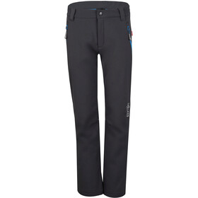 TROLLKIDS Fjell Softshell Pants Kids, anthracite/med blue